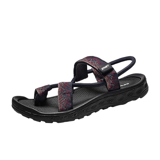 4b54ee284 Darringls_Zapatos de hombre,Sandalias Hombre Chanclas Cuero Hombre Chanclas para  Hombre Sandalias Hombre Sandalias Hombres Verano: Amazon.es: Ropa y ...