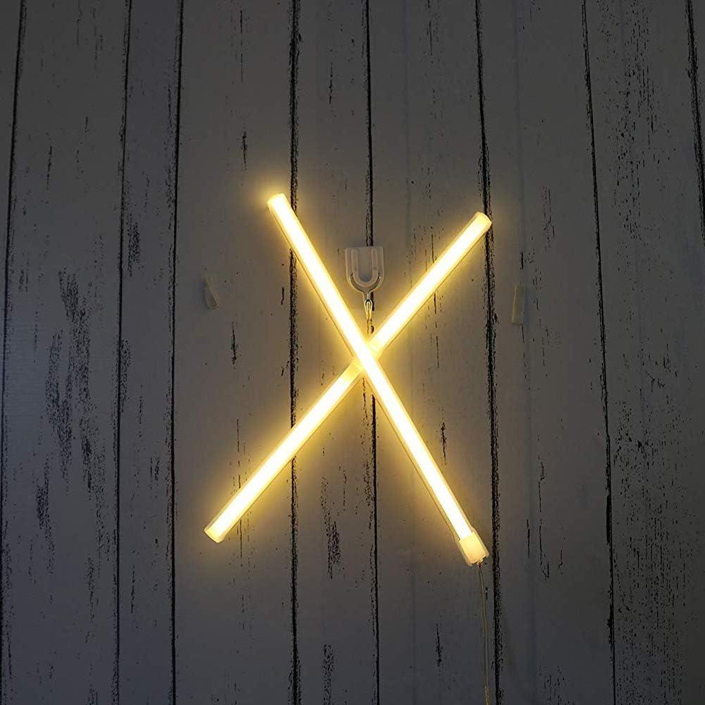 Warm White Neon-Zeichen-Zeichen-Nachtlichter LED Alphabet Neonkunst dekorative Leuchten Beste Wand-Dekor leuchten Worte f/ür Hochzeit Geburtstag Geburtstagsparty Weihnachten Home Bar Club Dekoration