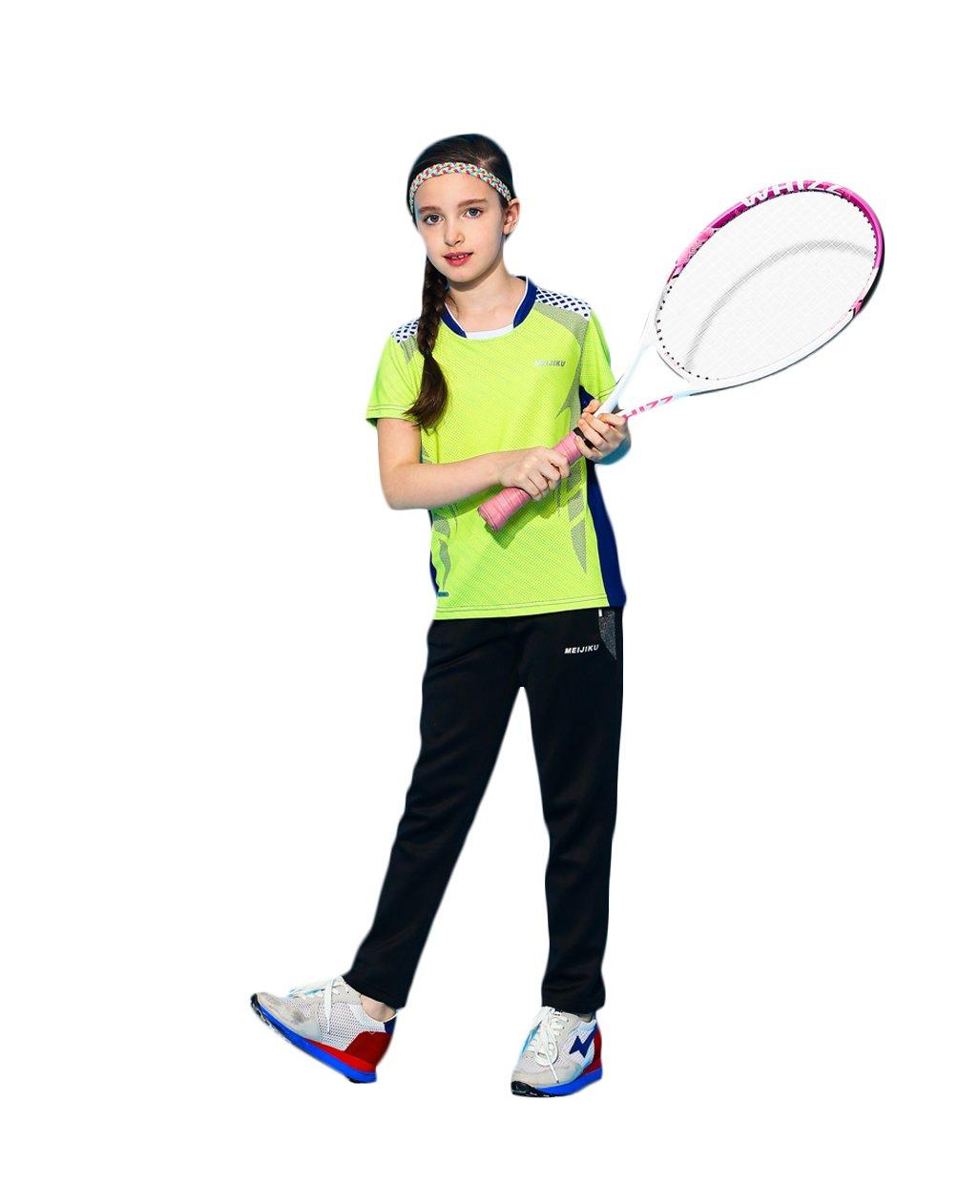 UDIY KidsユニセックスSports Clothingセット2018の新しいデザインファッションテニス、ゴルフ、バドミントン L/11-12 Years unisex pants set B07D28WH3G