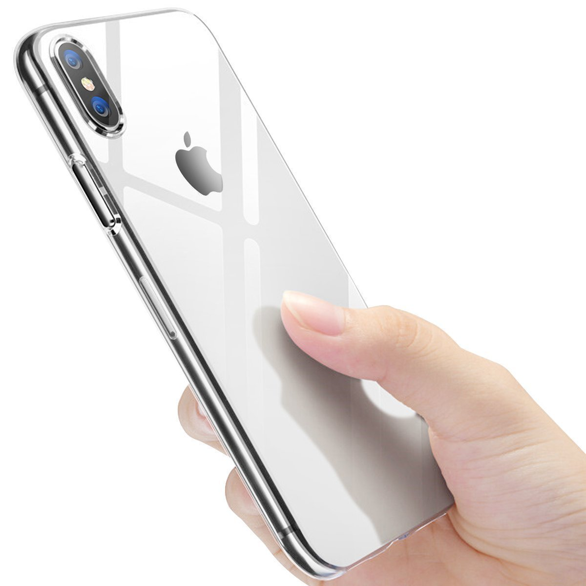 innislink Coque de Protection en Silicone pour iPhone X avec Coque en Gel TPU pour iPhone X Transparent 0909I8TPU