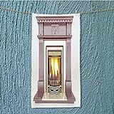 AmaPark swimmer towel fireplace 66271414 Moisture Wicking W9.8 x H39.4 INCH