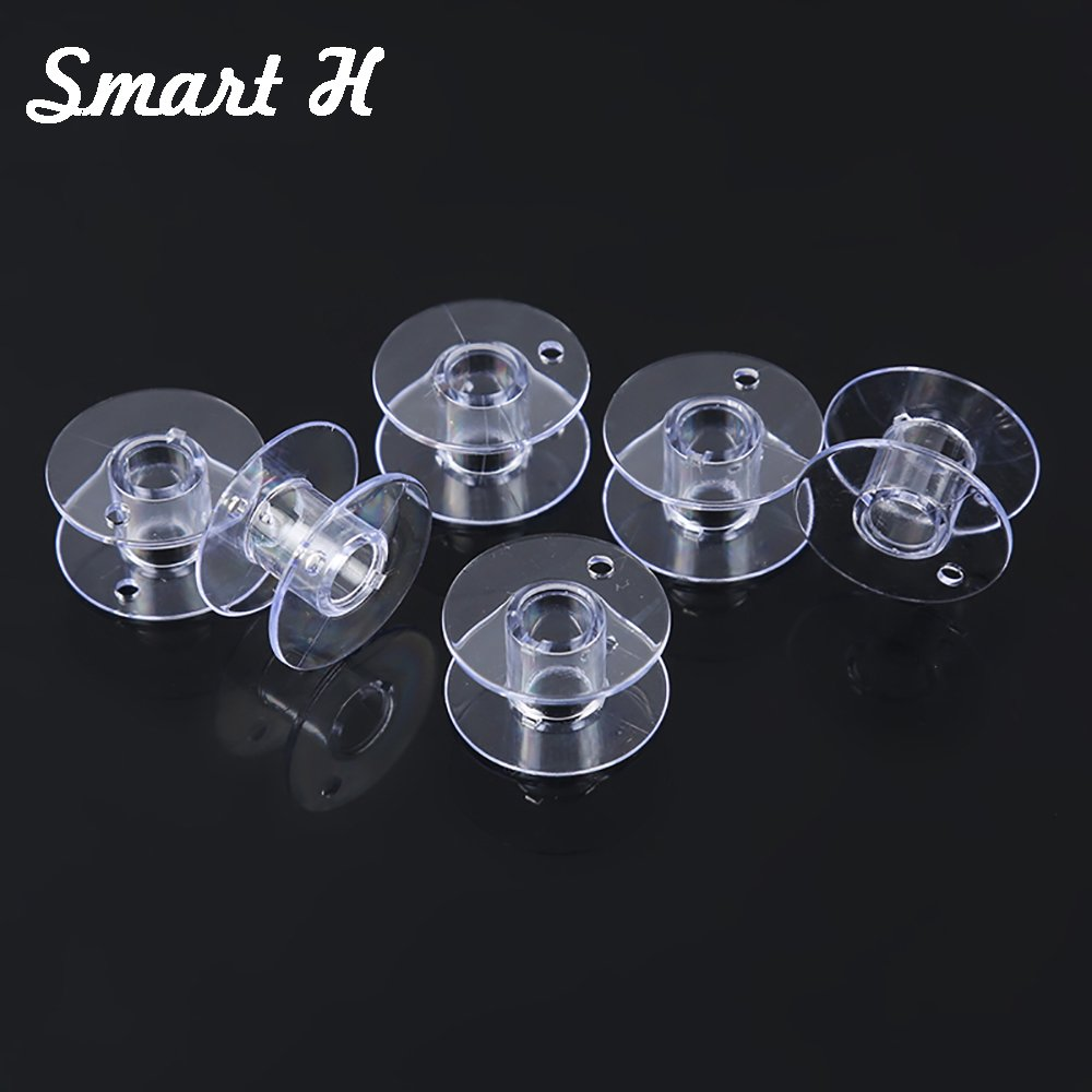 Smart H 10-Pack of Style SA156 Premium Top Load Sewing Machine Bobbins Made to Fit Brother Sewing Machines
