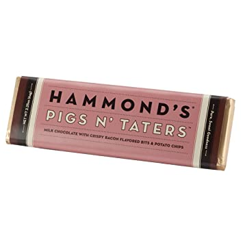 amazon com bacon and potato chips candy bar hammonds pigs n