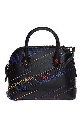 grande vente 17c1c 20784 Balenciaga Femme 5506460K1v31072 Noir Cuir Sac À Main ...