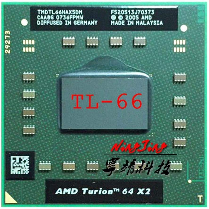 AMD Turion 64 X2 Mobile Technology TL-66 TL 66 TL66 2.3 GHz Dual-Core Dual-Thread CPU Processor TMDTL66HAX5DC Socket S1