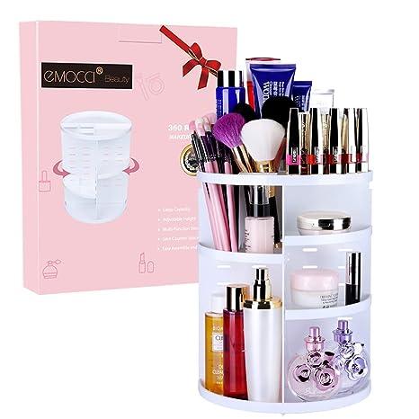 Rangement Maquillage Organiseur De Maquillage Emocci Diy Amovible Make Up Support De Stockage De Grande Capacité Boîte De Rangement Pour Cosmétiques