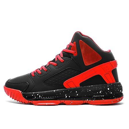 YSZDM Zapatos de Baloncesto para Hombre, Botas de Baloncesto ...