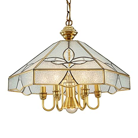 Amazon.com: ChuanHan - Lámpara de techo colgante de cobre ...