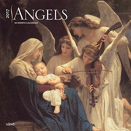 "Angels 2017 Square Vine Wall Calendar 12"" x 12"""