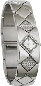Christian Geen Analog Watch For Women - Stainless Steel, Silver - 3740Lbs-Wh