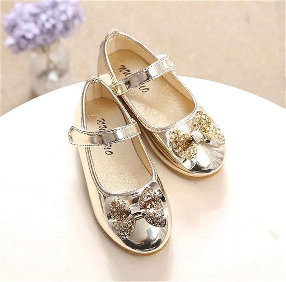 MODEOK Girls Ariana Mary Jane Ballerina Flat Dress Shoes Toddler//Little Kid//Big Kid