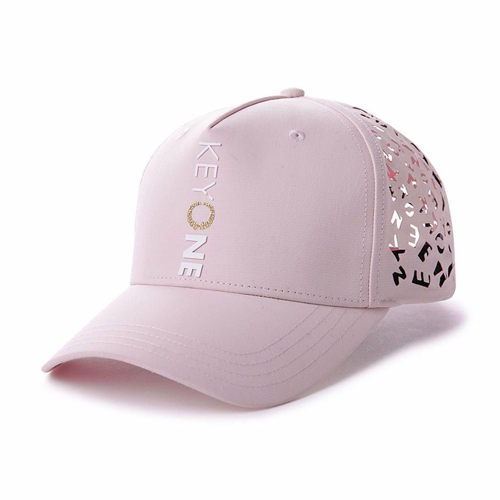 野球の帽子夏のレジャー通気性のある帽子屋外旅行日ハットストリートジョーカーの手紙パンチ調整可能   B07FZ3CXXS