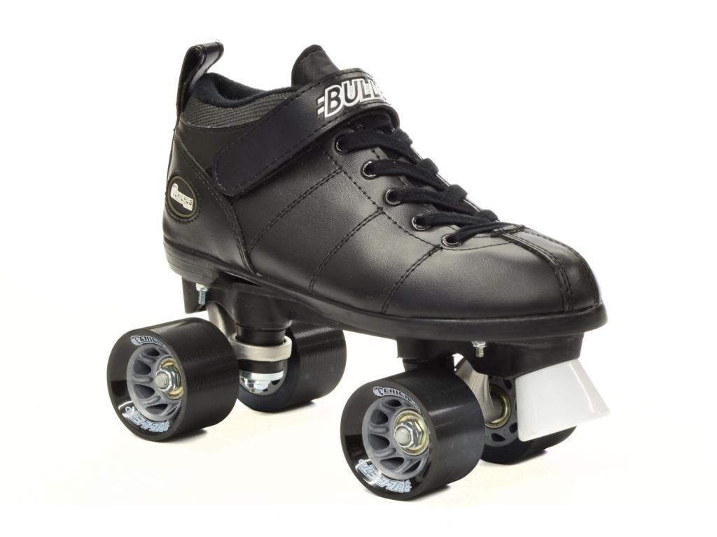 Chicago Bullet Black Speed Skates - Chicago Speed Skates - Black Quad