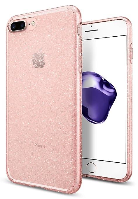 187 opinioni per Cover iPhone 7 Plus, SPIGEN® Cover Custodia [Liquid Crystal] Slim Protezione e