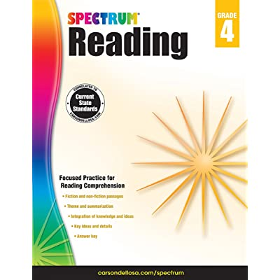 Spectrum Reading Workbook, Grade 4: Toys & Games