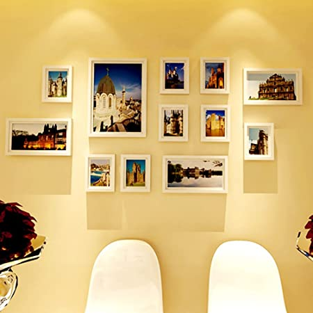High-end photo frame photo wall wedding photo frame wall combination ...
