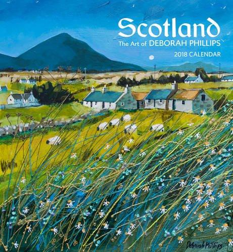 Scotland 2018 Wall Calendar