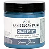 CHALK PAINT (R) by Annie Sloan - Aubusson Blue (Project Pot - 4oz) – Decorative paint for furniture, cabinets, floors, home decor and accessories – Water-based – Non-toxic – Matte finish