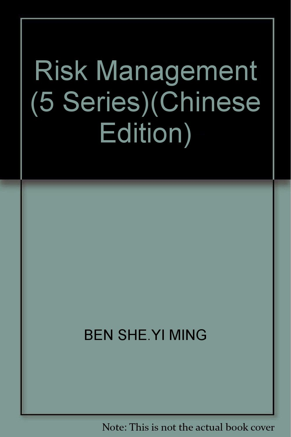 Read Online Risk Management (5 Series)(Chinese Edition) ebook