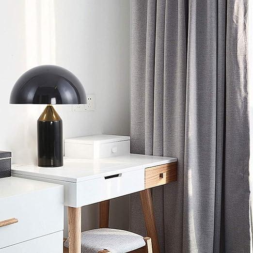 Xuanheyi Negro, Luz, Lámpara De Mesa LED Moderna Y Simple, Lámpara ...
