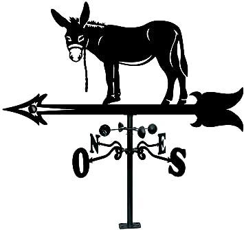 Amazon.com: Arthifor - Baca con silueta de burro, color ...