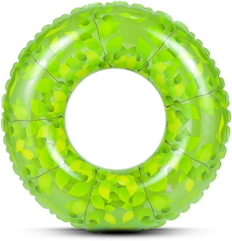 大人の子供Q.AWOU水泳リングPVC肥厚旅行休暇ポータブルフローティング行インフレータブルおもちゃ(色:60cm)