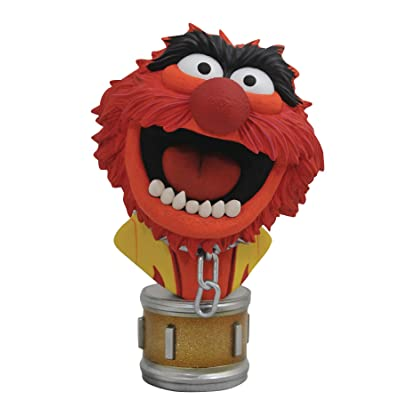 DIAMOND SELECT TOYS OCT182226 Select Toys Legends in 3-Dimensions: The Muppets Animal 1: 2 Scale Bust, Multicolor: Toys & Games