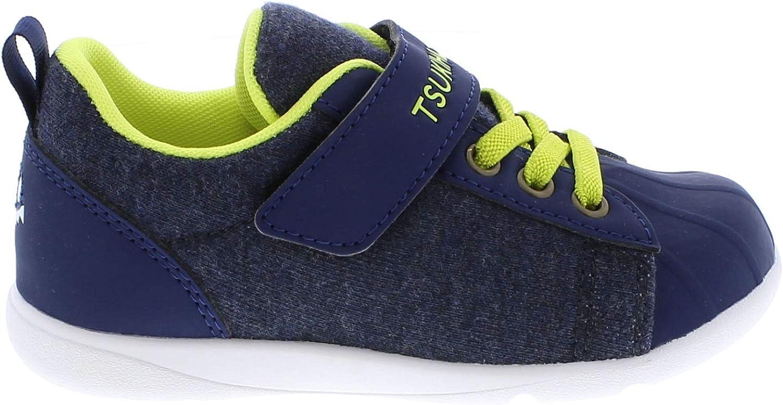 Navy//Lime Sneaker TSUKIHOSHI Kids Boys Kai Toddler//Little Kid