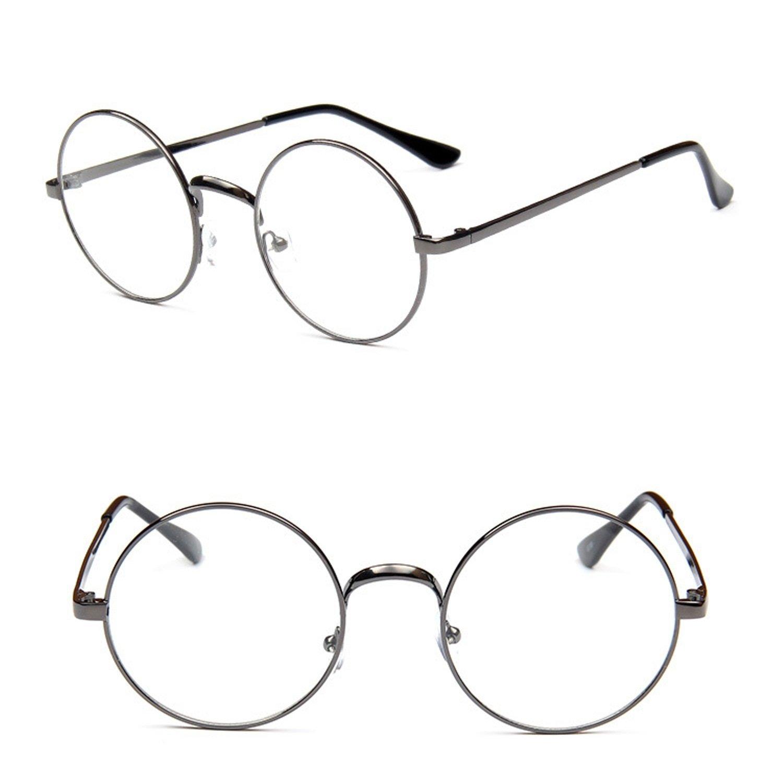 amazon nuni classic metal wire frame round eyeglasses small Wearing Ray-Ban Aviators amazon nuni classic metal wire frame round eyeglasses small size black transparent clothing