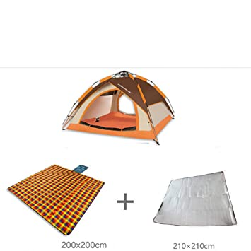 Huifang Frame Tents QFFL zhangpeng Tent Thick Double Automatic Tent ...