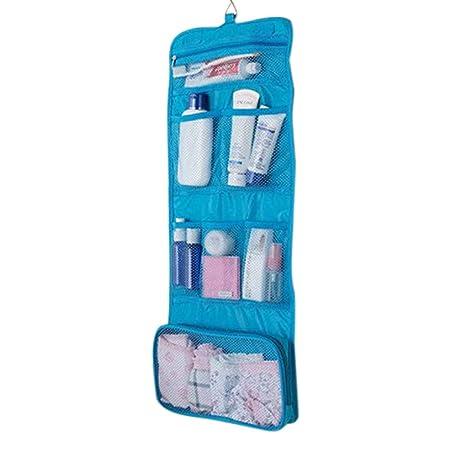 en Maquillaje/Lavado bolso colgante gancho de bolsillo Kit de aseo/WC/Bolsa