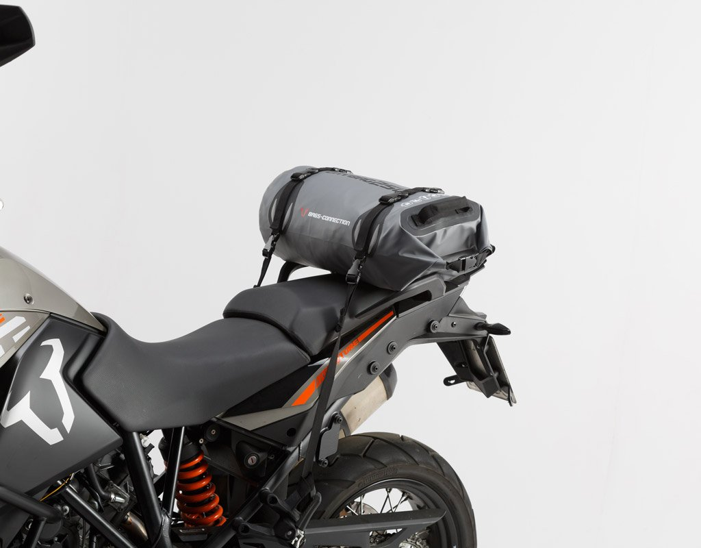 Wasserdichte Hecktasche Drybag 250, 25 Liter, grau/schwarz, wasserdicht. SW MOTECH GMBH & CO.KG BC.WPB.00.008.10000
