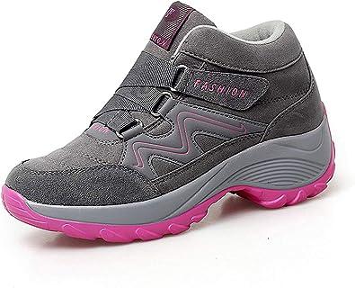 lovejin Zapatos de Senderismo Mujer Trekking Ocio al Aire Libre y Deporte Zapatillas Impermeable Trekking de Escalada Zapatos: Amazon.es: Zapatos y complementos
