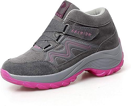 lovejin Zapatos de Senderismo Mujer Trekking Ocio al Aire Libre y ...