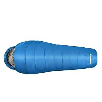 Kingcamp – Saco de dormir momia Treck 125 – 215 * 80 * 55 cm/