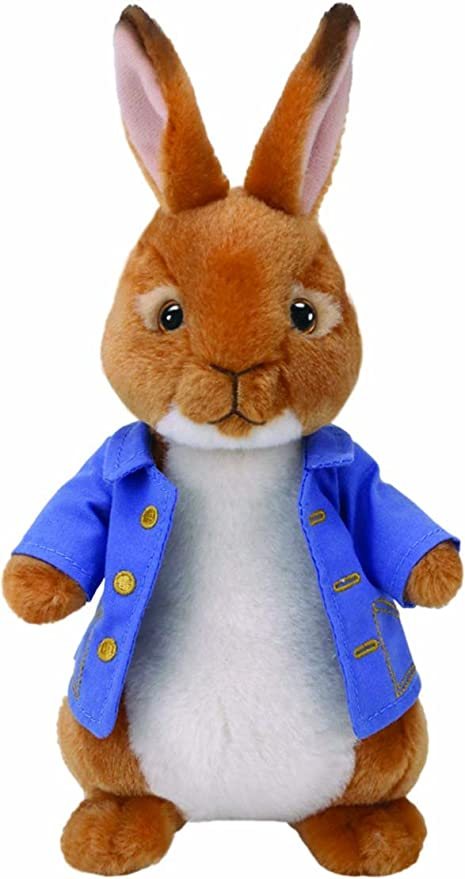 """2018 Ty Beanie Babies ~ PETER from the Peter Rabbit Movie 9/"""" Tall NEW ~ IN HAND"""