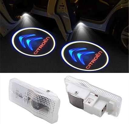 XYSTAR Coche Logo LED Proyector luces puerta 2 PC Coche LED Logo Puerta Iluminaci/ón