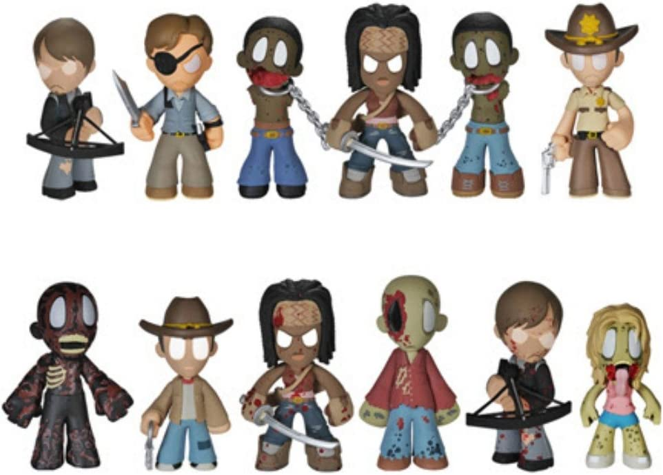 Funko Mystery Minis Walking Dead Blind Box Series 8 Collectables vinyl figures
