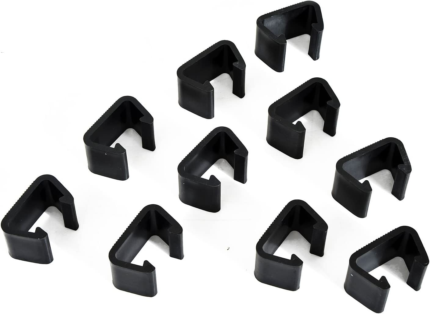 Outsunny Outdoor Sectional Sofa Furniture Connector Fastener Clips - Set of 10