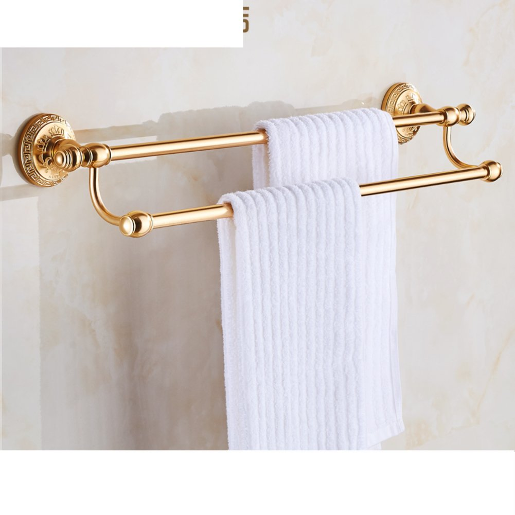 80%OFF European-style double towel bar/Towel Bar/Towel hanger/Bathroom five pendant-A