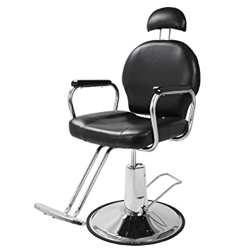 XtremepowerUS Barber Chair Hair Salon Equipment Reclining Hydraulic Styling Chair  sc 1 st  Amazon.com & Amazon.com : XtremepowerUS Barber Chair Hair Salon Equipment ... islam-shia.org