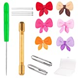 WXJ13 Doll Hair Rooting Reroot Tool Holder with 5