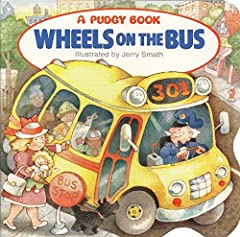 Thisbest-selling book based on the popular children's song has driven its way into the hearts of many since its 1991 release. With wheels that go round, doors that open and shut, wipers that swish, and people that go bumpety-bump, the board ...