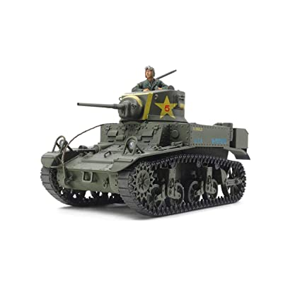 Tamiya America, Inc 1 35 U.S. Light Tank M3 Stuart Late Production, TAM35360: Toys & Games