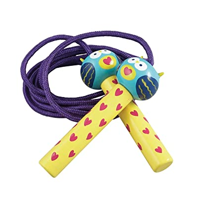 Floss & Rock OWL Jump/Skipping Rope: Sports & Outdoors