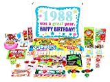 Woodstock Candy 1988 30th Birthday Gift Box of Retro Nostalgic Candy from Childhood for a 30 Year Old Man or Woman