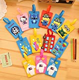 Korean fashion bags cartoon luggage tag, so you many luggage one will recognize his luggage