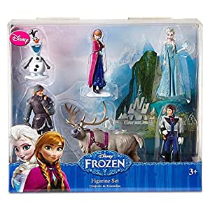 Amazon Com Disney Frozen 6 Pc Figurine Figure Set Sven