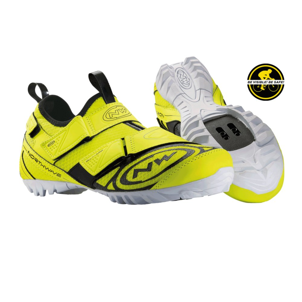 NORTHWAVE MULTI APP Mountainbike Schuhe yellow fluo