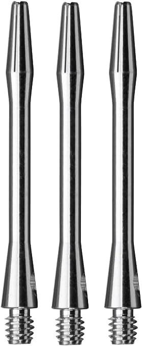 Medium Silver ALIMIX Spinning Aluminum Dart Shafts 1 set of 3